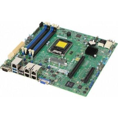 Материнская плата сервера SuperMicro MBD-X10SLM+-LN4F-O (MBD-X10SLM+-LN4F-O)Материнские плата серверов SuperMicro<br>Мат плата Supermicro MBD-X10SLM+-LN4F-O uATX, LGA1150, Intel&amp;#174;C224, 4xDDR3, 6xSATA, 4xGbE, IPMI, VGA<br>