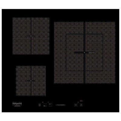 Электрическая варочная панель Hotpoint-Ariston KIS 630 XLD B (KIS 630 XLD B)Электрические варочные панели Hotpoint-Ariston<br>электрическая варочная панель<br>стеклокерамическая поверхность<br>индукционные конфорки<br>двухконтурная конфорка<br>переключатели сенсорные<br>защита от детей<br>индикатор остаточного тепла<br>независимая установка<br>габариты (ШхГ) 59x52 см<br>