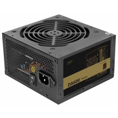 Блок питания ПК DeepCool Aurora DA600 600W (DA600N) блок питания пк deepcool de530 530w de530