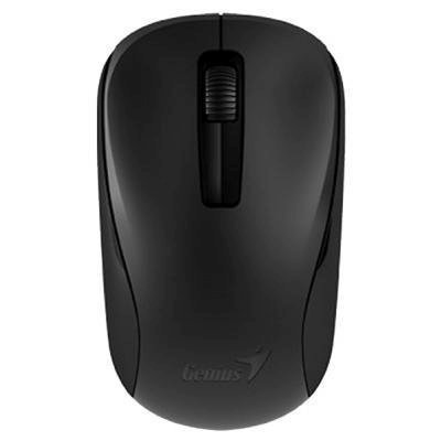 Мышь Genius NX-7005 черный (31030127101)Мыши Genius<br>Мышь беспроводная NX-7005 чёрная (black, G5 Hanger), 2.4GHz wireless, BlueEye 1200 dpi, 1xAA<br>