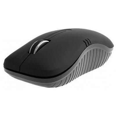 Мышь Crown CMM-933W (CM000001474, CMM-933W)Мыши Crown<br>оптическая, беспроводная (радиоканал), 1000 dpi, USB, цвет: чёрный<br>