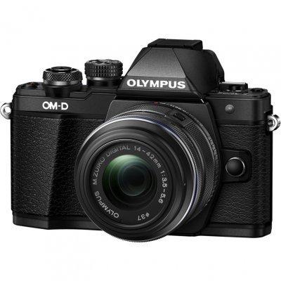 Цифровая фотокамера Olympus OM-D E-M10 Mark II Kit черный (E-M10 Mark II /black+EZ-M1442E)