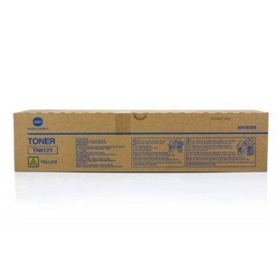 Тонер для лазерных аппаратов Konica Minolta TN-612Y желтый (A0VW250)Тонеры для лазерных аппаратов Konica Minolta<br>Тонер Konica-Minolta bizhub Pro C5501/6501 желтый<br>