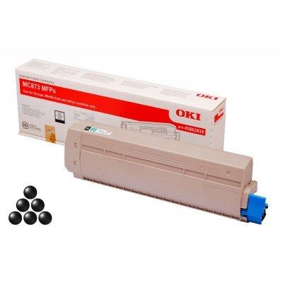 Тонер-картридж для лазерных аппаратов Oki 45862818/45862848 (45862818/45862848)Тонер-картриджи для лазерных аппаратов Oki<br>Тонер-картридж Oki МС873  15K (black)<br>