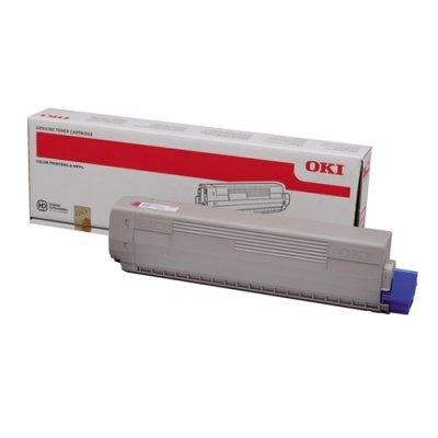 Тонер-картридж для лазерных аппаратов Oki 44844628/44844616 (44844628/44844616)Тонер-картриджи для лазерных аппаратов Oki<br>Тонер-картридж Oki C822  7К. black<br>