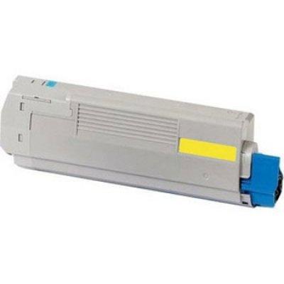 Тонер-картридж для лазерных аппаратов Oki 44844625/44844613 (44844625/44844613)Тонер-картриджи для лазерных аппаратов Oki<br>Тонер-картридж Oki C822 7.3К (yellow)<br>