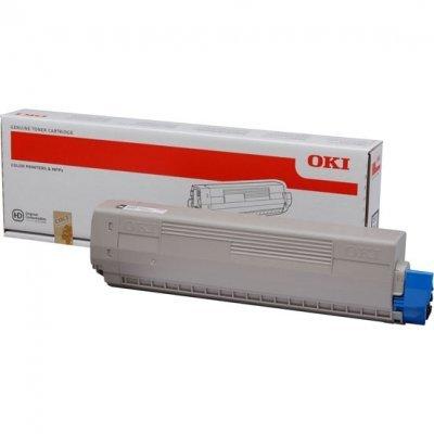 Тонер-картридж для лазерных аппаратов Oki 44844508/44844520 (44844508/44844520)Тонер-картриджи для лазерных аппаратов Oki<br>Тонер-картридж Oki C831/841  10K (black)<br>