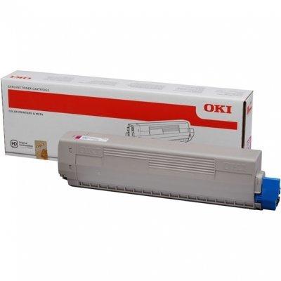 Тонер-картридж для лазерных аппаратов Oki 44844506/44844518 (44844506/44844518)Тонер-картриджи для лазерных аппаратов Oki<br>Тонер-картридж Oki C831/841 10K (magenta)<br>