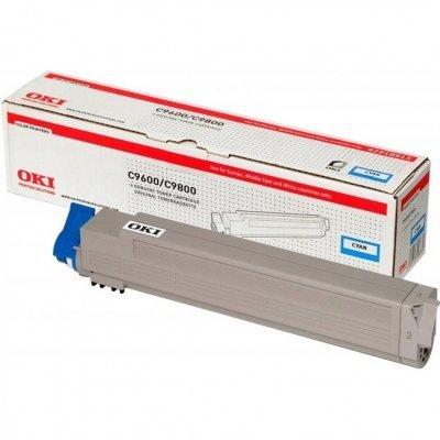 Тонер-картридж для лазерных аппаратов Oki 42918963/42918915 (42918963/42918915)Тонер-картриджи для лазерных аппаратов Oki<br>Тонер-картридж Oki C9600/9650/9800/9850 15K (cyan)<br>