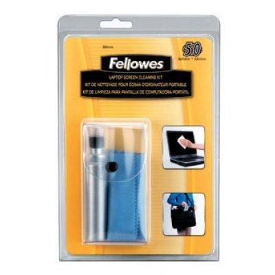 Салфетки для любых поверхностей Fellowes CRC-22019 (CRC-22019)Салфетки для любых поверхностей Fellowes<br>Чистящий набор (салфетки + спрей) Fellowes CRC-22019<br>