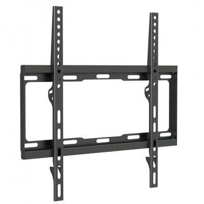 Кронштейн для ТВ и панелей Arm Media STEEL-3 черный (10203)Кронштейн для ТВ и панелей Arm Media<br>Кронштейн для телевизора Arm Media STEEL-3 черный 26-55 макс.40кг настенный фиксированный<br>