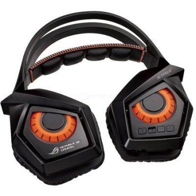 Компьютерная гарнитура ASUS ROG Strix Wireless черный (90YH00S1-B3UA00) наушники с микрофоном asus strix 2 0