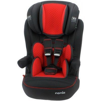 Детское автокресло Nania Imax SP LTD (quilt carmin) от 9 до 36 кг (1/2/3) черный/красный (925233)