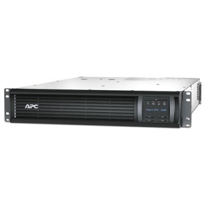Источник бесперебойного питания APC Schneider Electric Smart-UPS 2200VA RM 2U LCD 230V (SMT2200RMI2UNC)Источники бесперебойного питания APC<br>Smart-UPS SMT, Line-Interactive, 2200VA / 1980W, Rack, IEC, LCD, Serial+USB, SmartSlot, with Network Card<br>