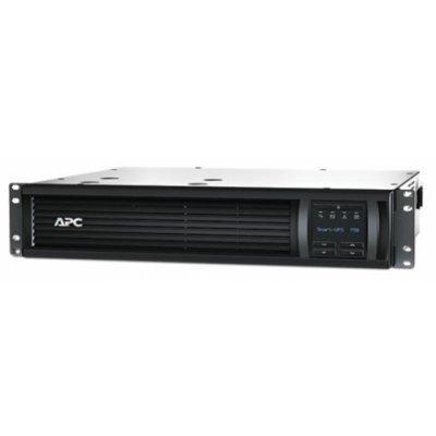 Источник бесперебойного питания APC SMT750RMI2UNC (SMT750RMI2UNC)Источники бесперебойного питания APC<br>Smart-UPS SMT, Line-Interactive, 750VA / 500W, Rack, IEC, LCD, Serial+USB, SmartSlot, with Network Card<br>