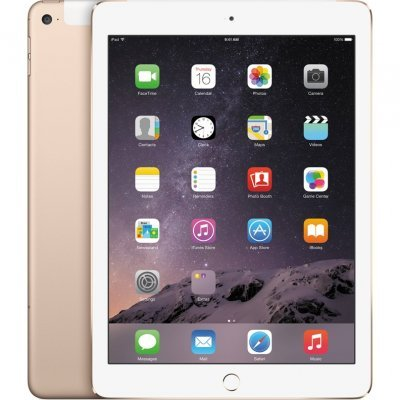 Планшетный ПК Apple iPad Air 2 Wi-Fi 32Gb + Cellular Gold (MNVR2RU/A) (MNVR2RU/A)Планшетные ПК Apple<br>Apple iPad Air 2 Wi-Fi 32Gb + Cellular Gold (MNVR2RU/A)<br>