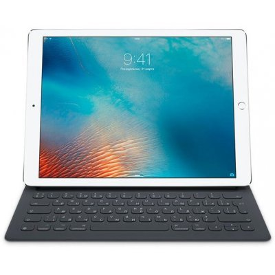Клавиатура Apple iPad Smart Keyboard for 12.9-inch iPad ProRu MNKT2RS/A (MNKT2RS/A)Клавиатуры Apple<br>клавиатура для iPad Pro 12.9, 64 клавиши, Smart Connector, материал корпуса: полиуретан/нейлон<br>