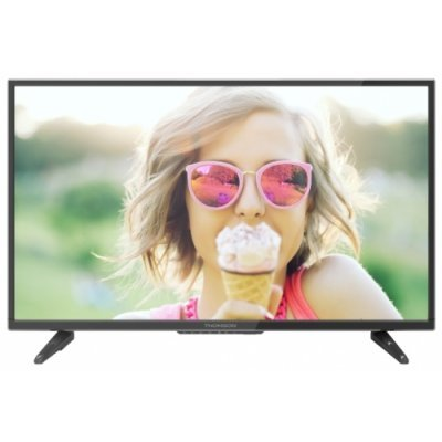 ЖК телевизор Thomson 43 T43D16SF-01B (T43D16SF-01B)ЖК телевизоры Thomson<br>ЖК-телевизор, 1080p Full HD<br>диагональ 43 (109 см)<br>HDMI x3, USB, DVB-T2<br>тип подсветки: Direct LED<br>