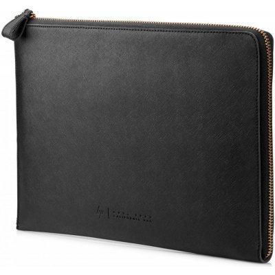 Чехол для ноутбука HP 13.3 Prm Lth Blk Zip Sleeve W5T46AA (W5T46AA)Чехлы для ноутбуков HP<br>чехол, макс. размер экрана 13.3<br>