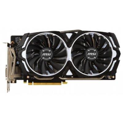 Видеокарта ПК MSI GeForce GTX 1060 1544Mhz PCI-E 3.0 6144Mb 8008Mhz 192 bit DVI 2xHDMI HDCP (GTX 1060 ARMOR 6G OCV1) видеокарта 6144mb msi geforce gtx 1060 6gt ocv1 pci e 192bit gddr5 dvi hdmi dp hdcp gtx 1060 6gt ocv1 retail