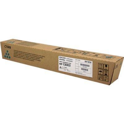 Тонер-картридж для лазерных аппаратов Ricoh MPC6003 голубой (841856) тонер картридж для лазерных аппаратов ricoh mpc6003 черный 841853