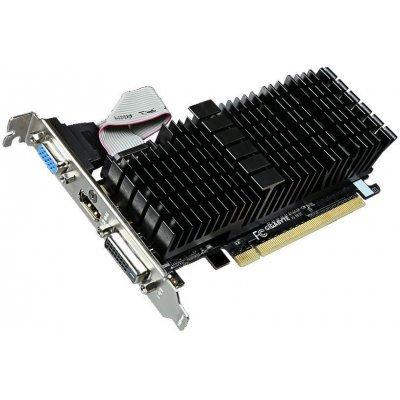 Видеокарта ПК Gigabyte GeForce GT 710 954Mhz PCI-E 2.0 2048Mb 1800Mhz 64 bit DVI HDMI HDCP Silent (GV-N710SL-2GL)Видеокарты ПК Gigabyte<br>PCI-E 2.0, ядро - 954 МГц, память - 2048 Мб GDDR3 1800 МГц, 64 бит, VGA (D-Sub), DVI, HDMI, Retail<br>