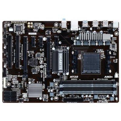 Материнская плата ПК Gigabyte GA-970A-DS3P (rev. 2.1) (GA-970A-DS3PV2.1)Материнские платы ПК Gigabyte<br>материнская плата форм-фактора ATX сокет AM3+ чипсет AMD 970 4 слота DDR3 DIMM, 1066-2000 МГц поддержка CrossFire разъемы SATA: 6 Гбит/с - 6<br>