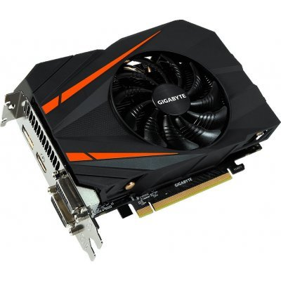 Видеокарта ПК Gigabyte GeForce GTX 1060 1556Mhz PCI-E 3.0 3072Mb 8008Mhz 192 bit 2xDVI HDMI HDCP (GV-N1060IXOC-3GD)Видеокарты ПК Gigabyte<br>видеокарта NVIDIA GeForce GTX 1060 3GB 3072 Мб видеопамяти GDDR5 частота ядра/памяти: 1556/8008 МГц разъемы DVI x2, HDMI, DisplayPort поддержка DirectX 12, OpenGL 4.5 работа с 4 мониторами<br>