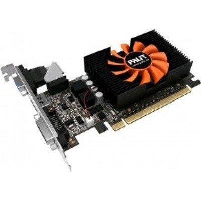 Видеокарта ПК Palit GeForce GT 730 902Mhz PCI-E 2.0 1024Mb 5000Mhz 64 bit DVI HDMI HDCP (NE5T7300HD06-2081F)Видеокарты ПК Palit<br>Объем памяти: 1024 Мб, Тип памяти: GDDR5 64 bit, графический процессор: NVidia GeForce GT 730, разъемы: PCI-E, DVI-D, поддержка HDCP, HDMI, VGA, поддержка DirectX 12, OpenGL 4.4<br>
