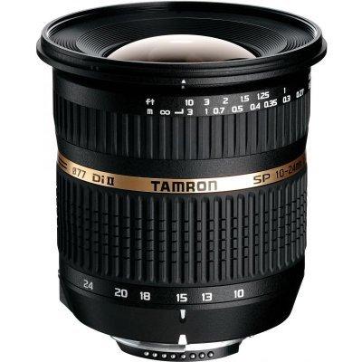 Объектив для фотоаппарата Tamron SP AF 10-24mm f/3.5-4.5 Di II LD Aspherical (IF) Canon EF-S (B001E)Объективы для фотоаппарата Tamron <br>Объектив SP AF 10-24мм F/3.5-4.5 Di II LD Aspherical IF для Canon<br>