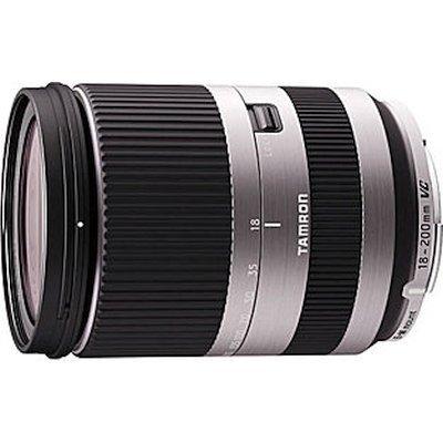 Объектив для фотоаппарата Tamron AF 18-200mm f/3.5-6.3 Di III VC Canon EF-M B011EM серебристый (B011EM silver) объектив для фотоаппарата tamron 18 200мм f 3 5 6 3 di ii vc для canon b018e