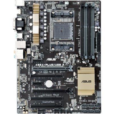 Материнская плата ПК ASUS A88X-PLUS/USB 3.1 (A88X-PLUS/USB 3.1)Материнские платы ПК ASUS<br>Материнская плата Asus A88X-PLUS/USB 3.1 Soc-FM2+ AMD A88X FCH 4xDDR3 ATX AC`97 8ch(7.1) GbLAN RAID RAID1 RAID5 RAID10+VGA+DVI+HDMI<br>