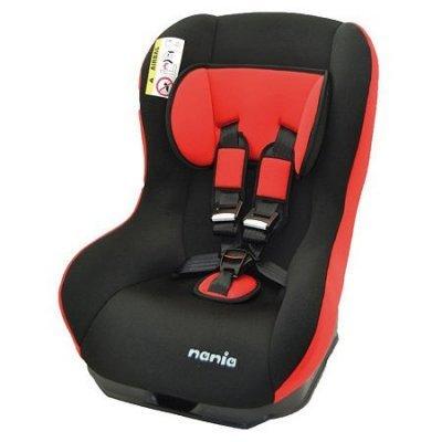 Детское автокресло Nania Basic (paprika) от 0 до 18 кг (0+/1) черный/красный (132880) paprika повседневные шорты