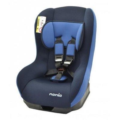 Детское автокресло Nania Basic (abyss) от 0 до 18 кг (0+/1) синий (137879)