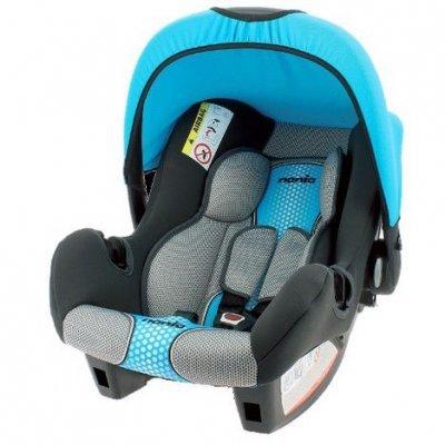 Детское автокресло Nania Beone SP FST (pop blue) от 0 до 13 кг (0/0+) черный/голубой (483608), арт: 248277 -  Детские автокресла Nania