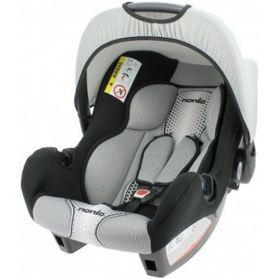 Детское автокресло Nania Beone SP FST (pop black) от 0 до 13 кг (0/0+) черный/серый (489901)