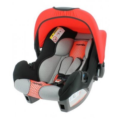 Детское автокресло Nania Beone SP FST (pop red) от 0 до 13 кг (0/0+) черный/красный (484607), арт: 248283 -  Детские автокресла Nania