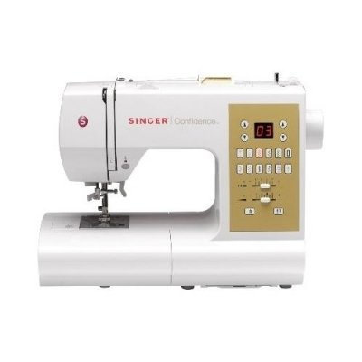 Швейная машина Singer Confidence 7470 белый (CONFIDENCE 7470) электромеханическая швейная машина singer promise 1408