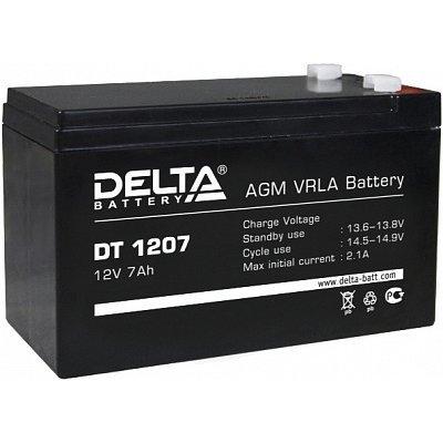 Аккумуляторная батарея для ИБП Delta DT 1207 (DT 1207) delta battery dt 1207 12v 7ah