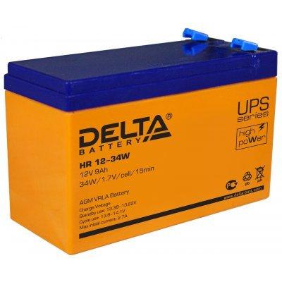 Аккумуляторная батарея для ИБП Delta HR 12-34W (HR 12-34 W) аккумуляторная батарея для ибп delta hr 12 28w hr 12 28 w