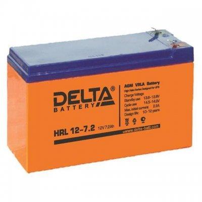 Аккумуляторная батарея для ИБП Delta HRL 12-7.2 (HRL 12-7.2), арт: 248337 -  Аккумуляторные батареи для ИБП Delta