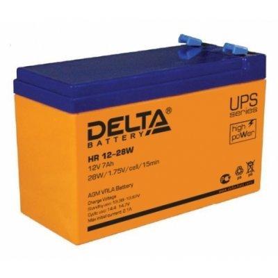 Аккумуляторная батарея для ИБП Delta HR 12-28W (HR 12-28 W) аккумуляторная батарея для ибп delta hr 12 28w hr 12 28 w