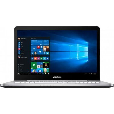 Ноутбук ASUS N752VX (90NB0AY1-M03340) (90NB0AY1-M03340)Ноутбуки ASUS<br>ASUS N752VX (XMAS Special) Intel i5-6300HQ/8/1TB+128GB SSD/DVD-Super Multi/17.3 FHD 1920x1080/Nvidia GF GTX950M 2GB/Wi-Fi/Windows 10<br>