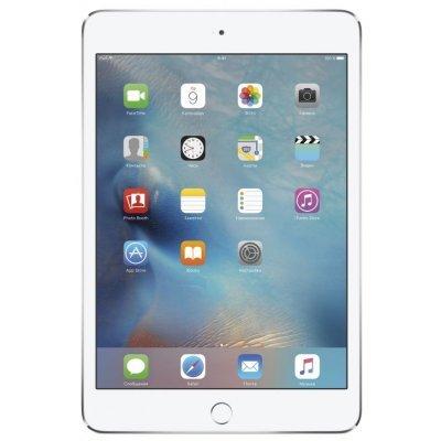 Планшетный ПК Apple iPad mini 4 32Gb Wi-Fi серебристый (MNY22RU/A)Планшетные ПК Apple<br>сенсорный экран, Multitouch, диагональ: 7.9 (20 см), разрешение: 2048x1536, Wi-Fi, Bluetooth, EDGE, A-GPS, ГЛОНАСС, основная камера: 8Мп, фронтальная камера: 1.2Мп, объём встроенной памяти: 32Гб, операционная система: iOS<br>