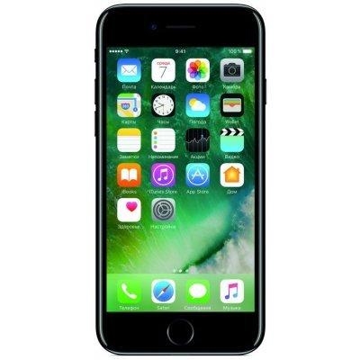 Смартфон Apple iPhone 7 128Gb черный оникс (MN962RU/A)Смартфоны Apple<br>смартфон, iOS 10, экран 4.7, разрешение 1334x750, камера 12 МП, автофокус, память 128 Гб<br>