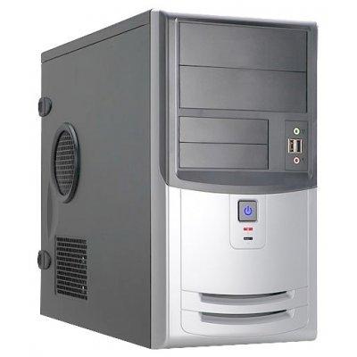 Корпус системного блока INWIN EMR018 450W Black/silver (6100456)Корпуса системного блока INWIN<br>компьютерный корпус Mini-Tower блок питания 450 Вт форм-фактор mATX спереди: USB x2, наушн., микр. материал: сталь габариты: 190x350x380 мм<br>