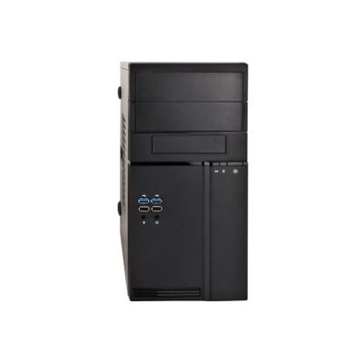 Корпус системного блока INWIN EN042 400W Black (6107879) компьютерный корпус inwin in win ec028 450w black не указан