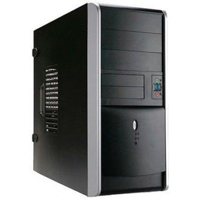 Корпус системного блока INWIN EAR007 450W Black/silver (6115720)Корпуса системного блока INWIN<br>компьютерный корпус Midi-Tower блок питания 450 Вт форм-фактор ATX, mATX спереди: USB x2, наушн., микр. материал: сталь габариты: 190x415x445 мм<br>