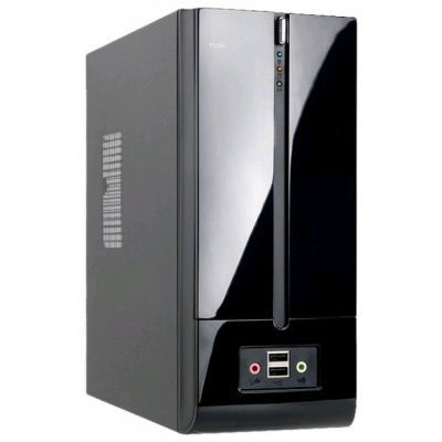 Корпус системного блока INWIN BM639 160W Black (6104029)Корпуса системного блока INWIN<br>компьютерный корпус Slim-Desktop блок питания 160 Вт форм-фактор Mini-ITX спереди: USB x2, наушн., микр. материал: сталь габариты: 264x112x230 мм<br>