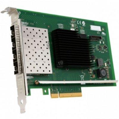 Сетевая карта для сервера Intel X710DA4FHBLK (X710DA4FHBLK)Сетевые карты для серверов Intel<br>Intel Ethernet Server Adapter X710-DA4 10Gb Quad Port Bulk<br>